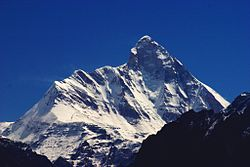 Mountain of Nanda Devi