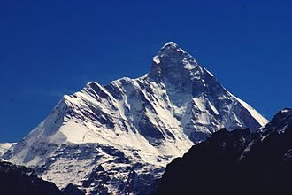 Garhwal division - Nanda Devi is the second-highest mountain in India.