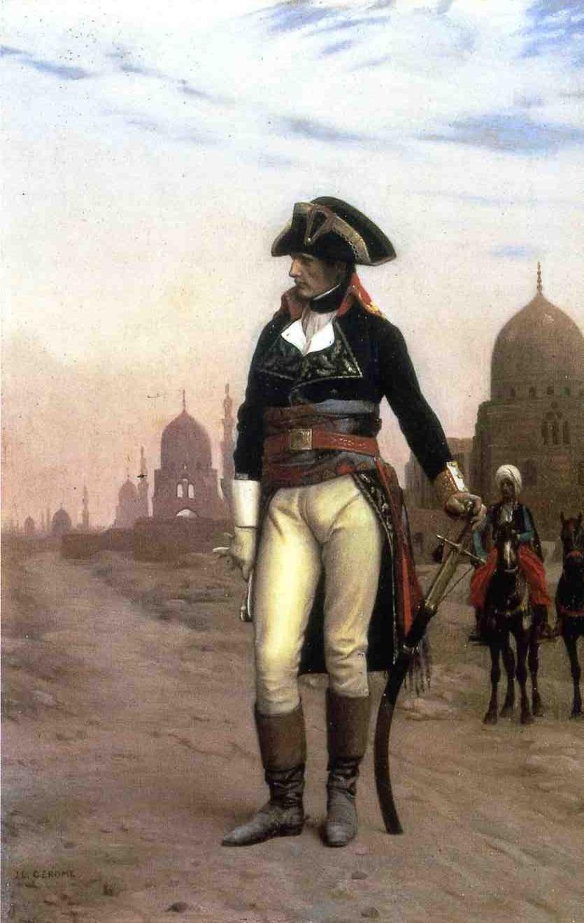 Napoleon-in-Egypt-(1868)-Gerome