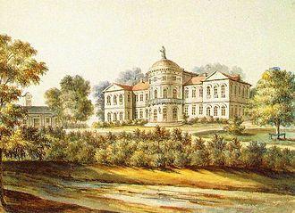Baisogala - Baisogala Manor, 19th century