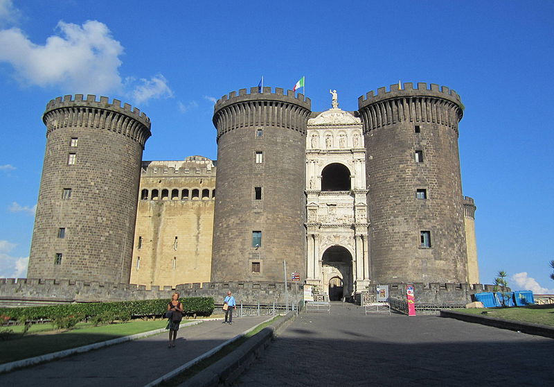 Chateau Castel Nuovo (Maschio Angioino) à Naples