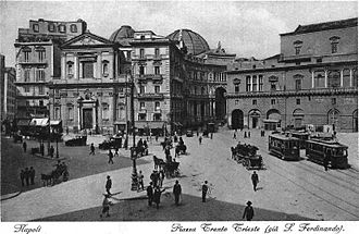 Trams in Naples - Trams in the 1920s
