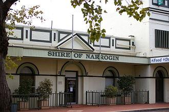 Narrogin, Western Australia - Shire of Narrogin building