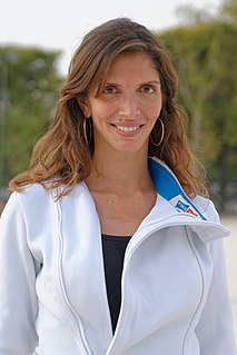 Nathalie Moellhausen Italo-Brazilian épée fencer