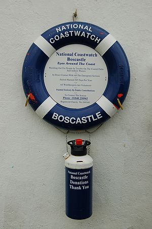 National Coastwatch Institution - National Coastwatch in Boscastle