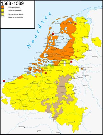 Nederlanden 1588-89