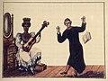 Negra ao violão, padre dançando.jpg