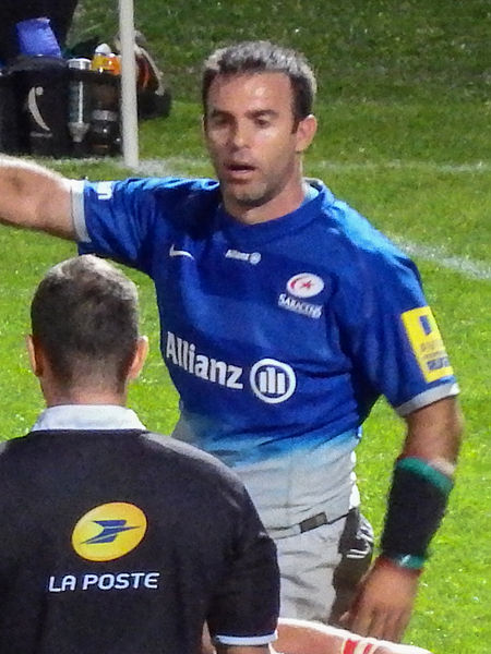 9 October 2015, Stade Jean Alric. Match between:  Stade Aurillacois Cantal Auvergne — Saracens