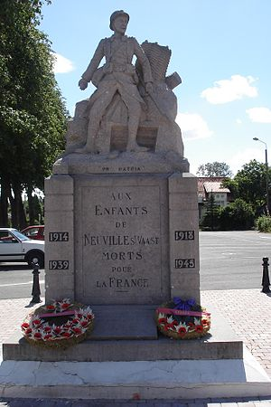 Neuville-Saint-Vaast - the war memorial