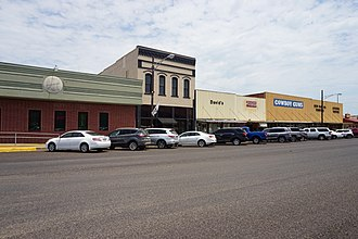New Boston, Texas - NE Front Street in New Boston