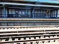 New Lots Avenue L; Crack under the Canarsie platform.JPG