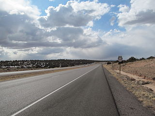 highway in New Mexico