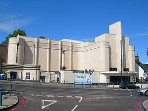 George Coles (architect) - This building in Woolwich was one of Cole's Streamline Moderne designs for Odeon Cinemas. It was opened as a cinema in 1937 and is now a church.