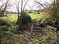 New fence, new gate - geograph.org.uk - 1593405.jpg