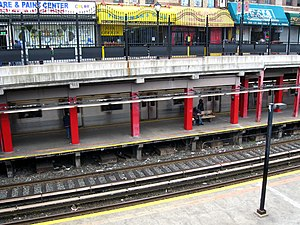 Newkirk Plaza (BMT Brighton Line) - Image: Newkirkplazajeh
