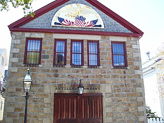 Artillery Company of Newport United States historic place