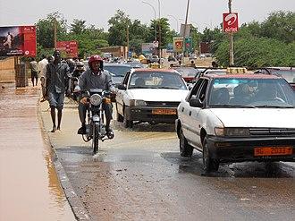 Timeline of Niamey - Image: Niamey Flood 2013