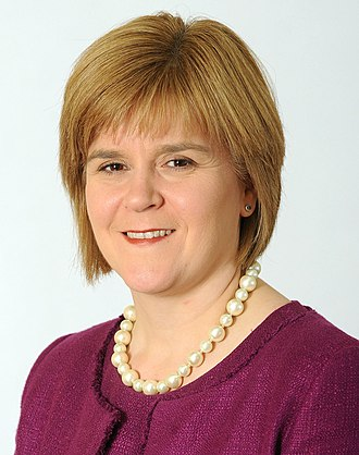 2014 Scottish National Party leadership election - Image: Nicola Sturgeon
