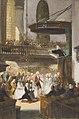Nicolaas Pieneman - 1793, huwelijksplechtigheid echtpaar Wurfbain-Hurrelbrinck in de Waalse Kerk te Amsterdam - SA 55064.2 - Amsterdam Museum.jpg