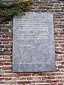 Nijmegen Sint Stevenskerhof, plaquette verzetsmonument 2010.JPG