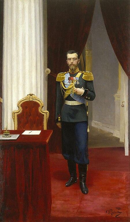 file nikolai ii of russia by i repin  1895  hermitage  jpg