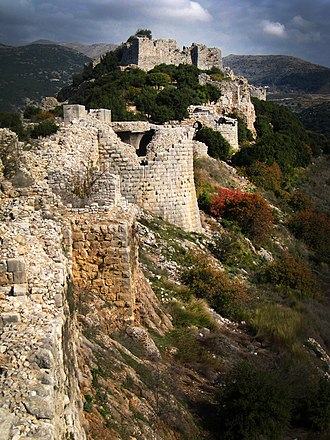 Nimrod Fortress - Image: Nimrod Fortress מבצר נמרוד