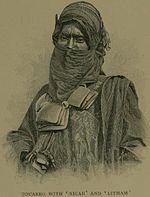 Tuareg, 1890 circa