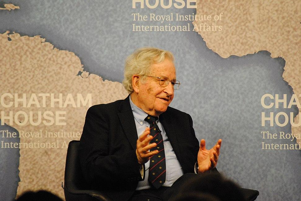 Noam Chomsky, Institute Professor and Emeritus Professor of Linguistics, MIT (14112575810)