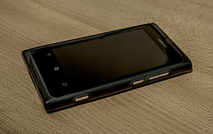 Microsoft Lumia - Nokia Lumia 800, the first Lumia device
