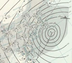 March 1960 nor'easter - Image: Nor'easter 1960 03 04 weather map