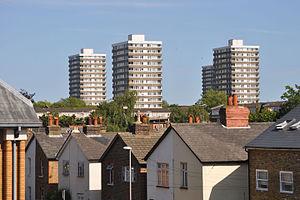 Norbiton - Image: Norbiton housing