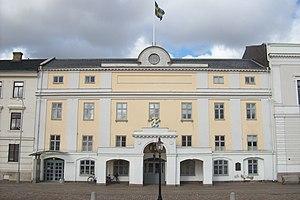Stadshuset sett från Gustaf Adolfs torg.