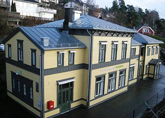 Nordstrand Station - Image: Nordstrand stasjon