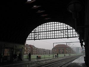 Nørrebro station - Image: Norrebro 4