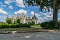 North-west exposure of the Chambord Castle 01.jpg