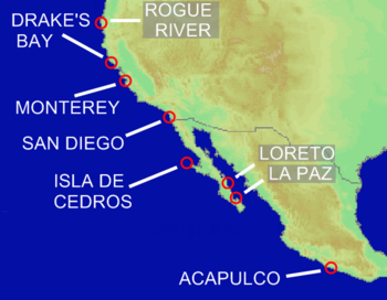History of the west coast of North America - Wikipedia