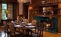 Norumbega Inn, Camden, Maine 07, One of two dining rooms.jpg