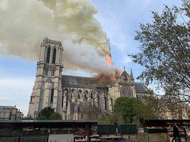 Incendio Notre-Dame