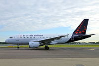OO-SSE - A319 - Brussels Airlines
