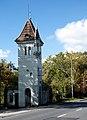 OPOLE portiernia z wieżą strażniczą przy wjeździe do zespołu fabrycznego ul Marka z Jemielnicy2. sienio.jpg