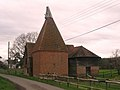 Oast House at Cherry Tree Farm, Mill Lane, Frittenden, Kent - geograph.org.uk - 322993.jpg
