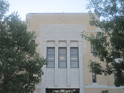 Ochiltree County, TX, Courthouse IMG 6008