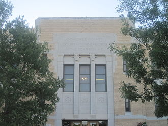 Ochiltree County, Texas - Image: Ochiltree County, TX, Courthouse IMG 6008