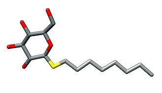 N-Octyl beta-D-thioglucopyranoside - Image: Octylthioglucoside