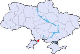 Odessas beliggenhed