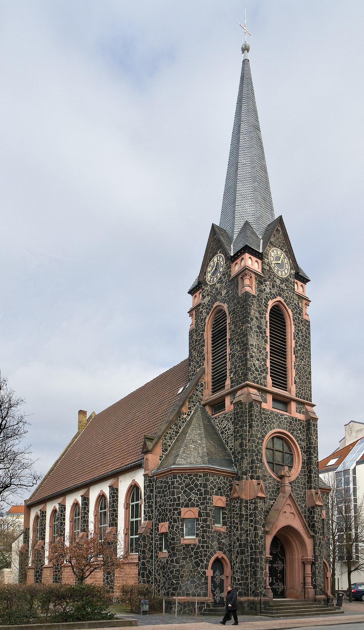 Christuskirche offenbach am main wikipedia for Werbeagentur offenbach am main