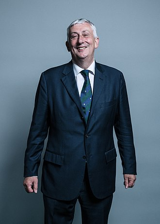 Chairman of Ways and Means - Image: Official portrait of Mr Lindsay Hoyle