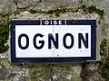 Ognon (60), plaque Michelin.jpg