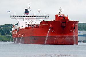 Oil tanker Heather Knutsen in Halifax Harbour - Nova Scotia, Canada - 20 June 2012.jpg