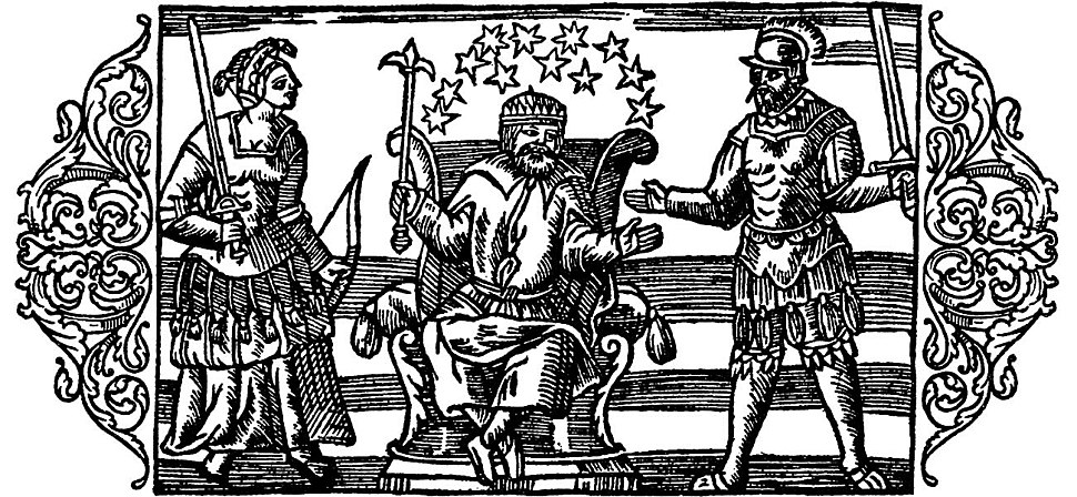 Olaus Magnus - On the three Main Gods of the Geats